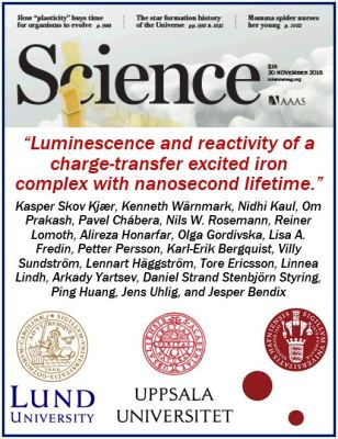 Iron-based molecule - Science mag