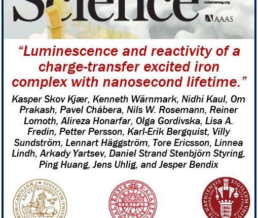 Iron-based molecule – Science mag
