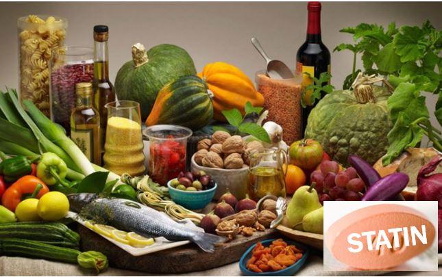 Mediterranean Diet plus statins – image