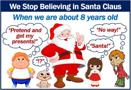 Stop believing in Santa Claus