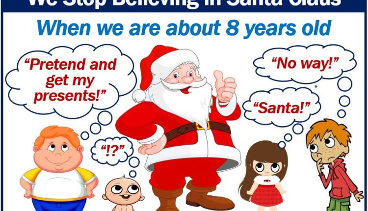 Stop believing in Santa Claus