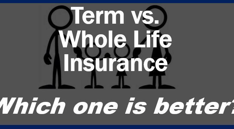 Term vs whole life insurance thumbnail