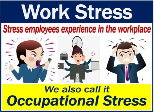 Work Stress - definition and stressed people