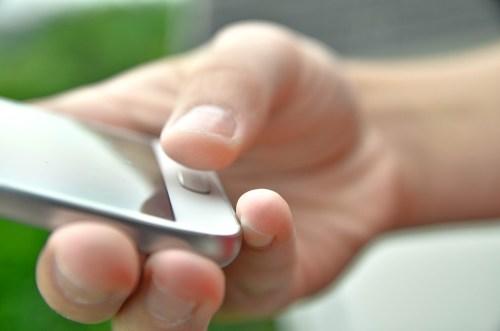 fingerprint recognition on smartphone