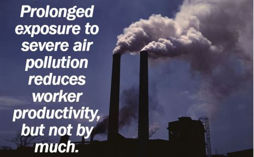 Air Pollution - Worker Productivity