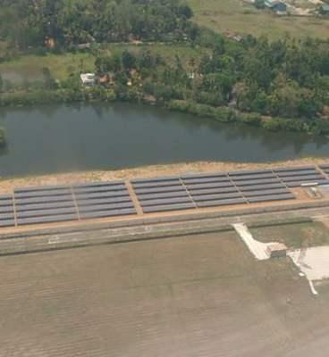 Cochin International Airport solar panels - Image 1