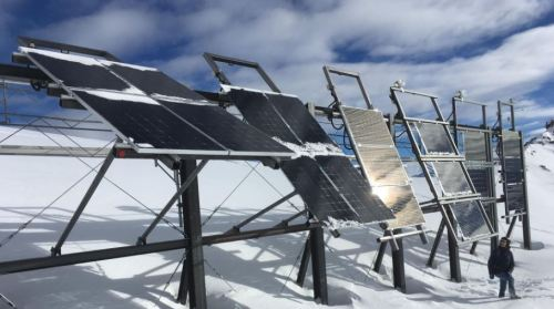Solar panels on mountain tops article - image 1