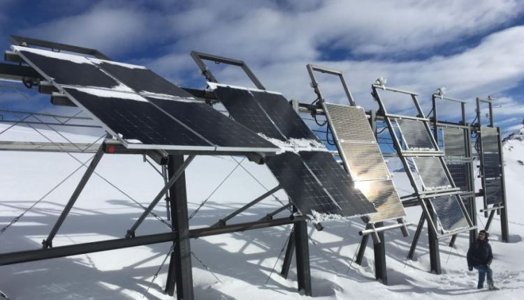Solar panels on mountain tops article – image 1