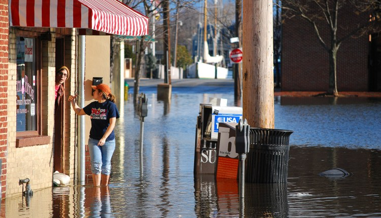 Flooding in Annapolis, Md.