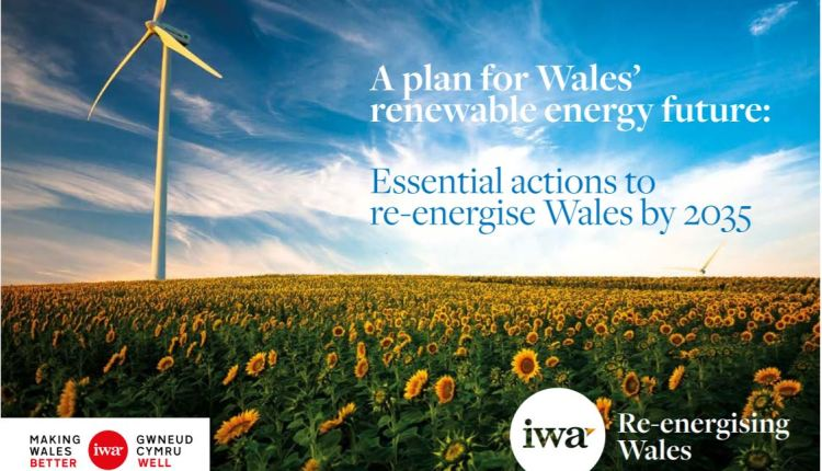IWA Wales renewable energy plan – image 1