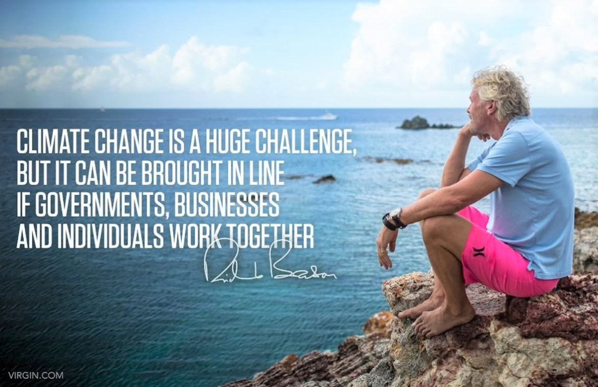 Sir Richard Branson Climate Change image 1