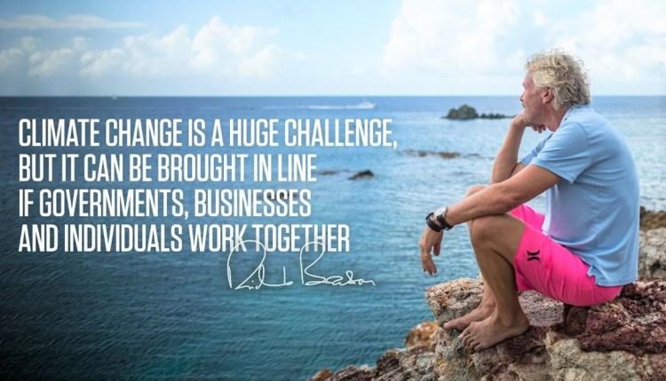 Sir Richard Branson Climate Change image 1