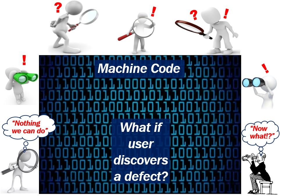 machine code - discovering a defect
