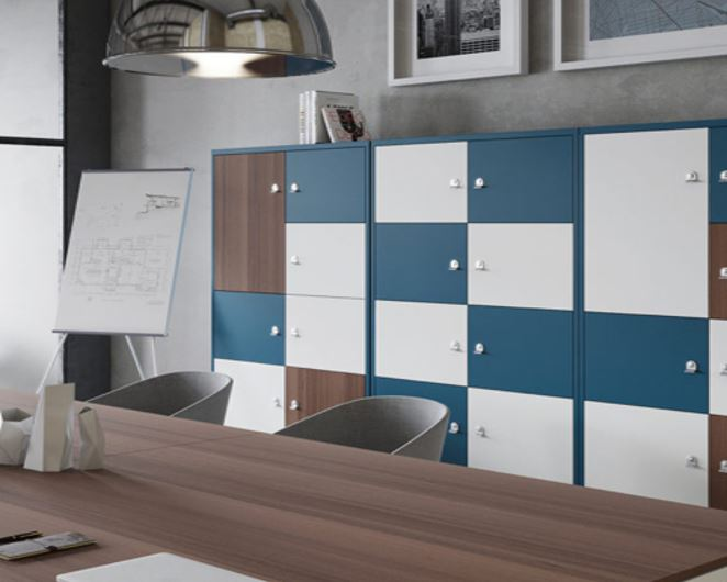 Image of cupboards in an office