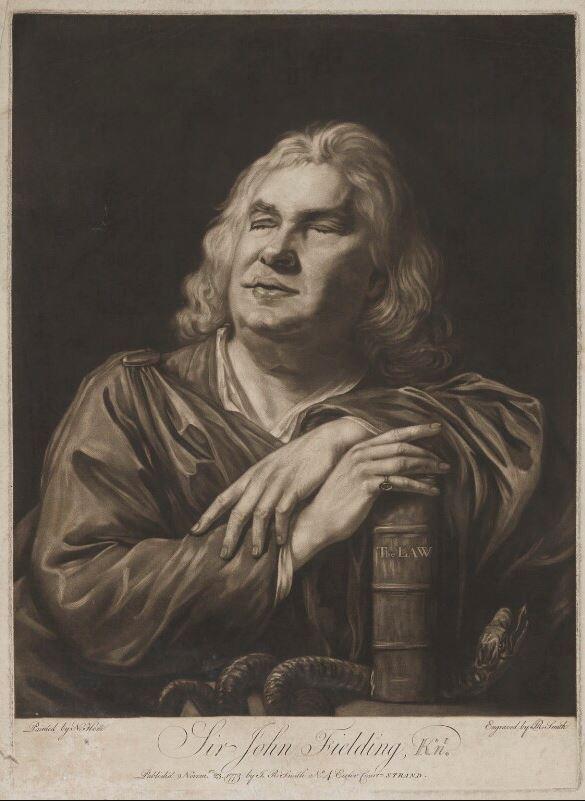 Sir John Fielding - UK Magistrate image 222