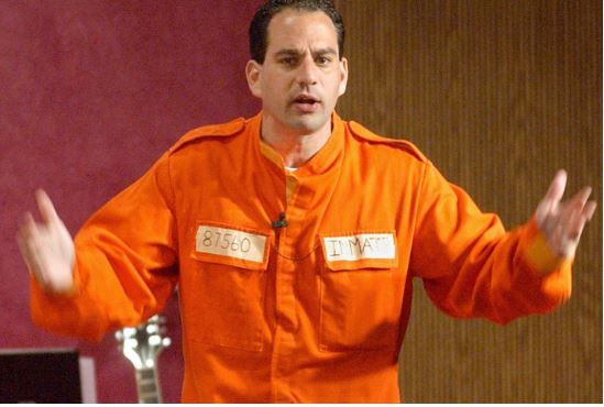 Barry Minkow back in prison
