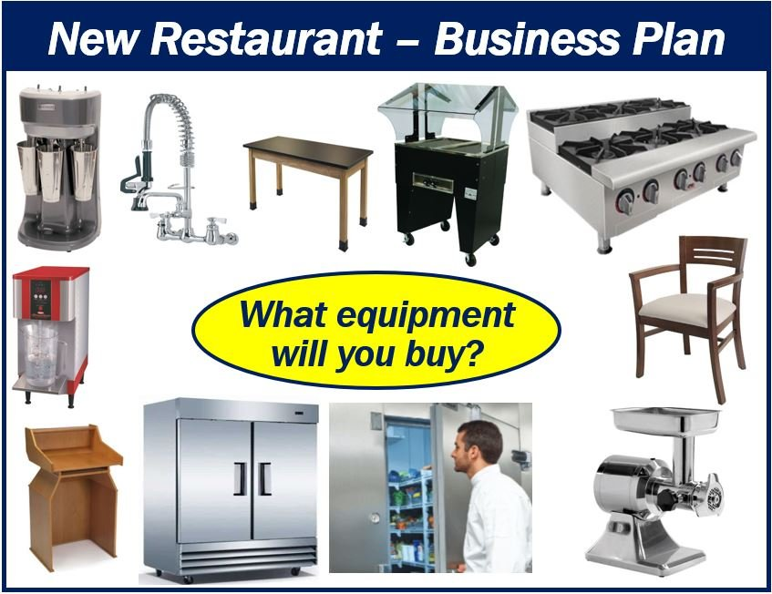 Restaurant equipment business plan image plan