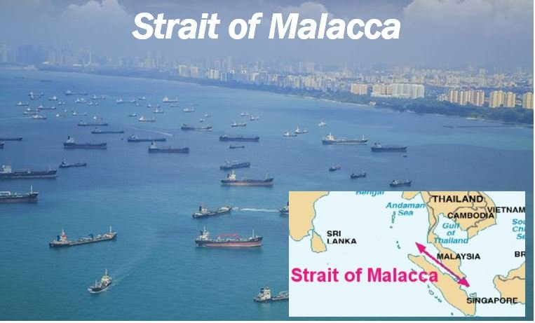 Strait of Malacca shipping route 44444