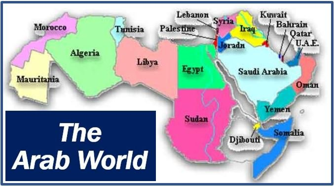 The Arab world image 8848888