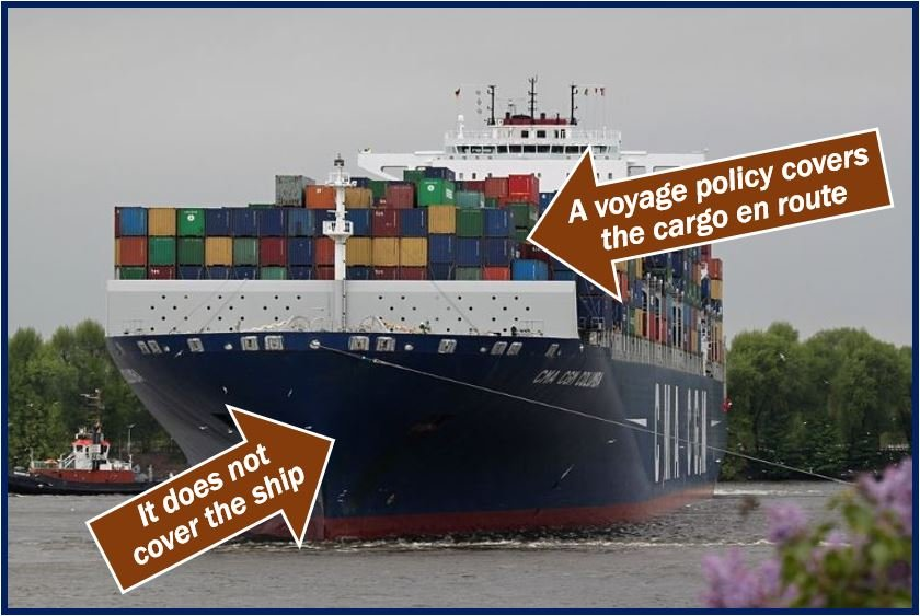 What is a voyage policy? Definition and examples - Market