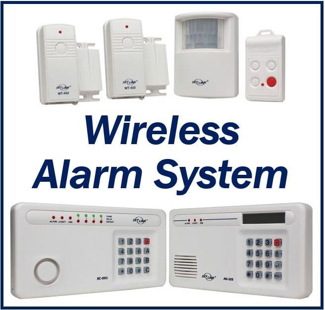 Wireless alarm system image 23333
