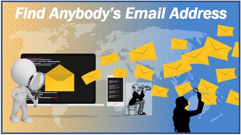 find anybodys email address