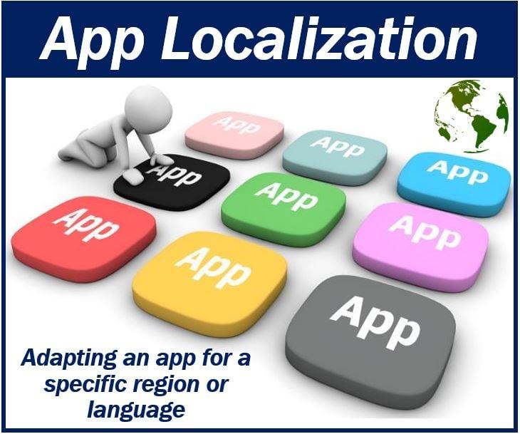 App localization image