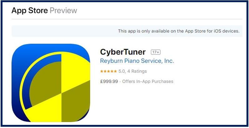 Cyber Tuner iPhone Apps image 4444