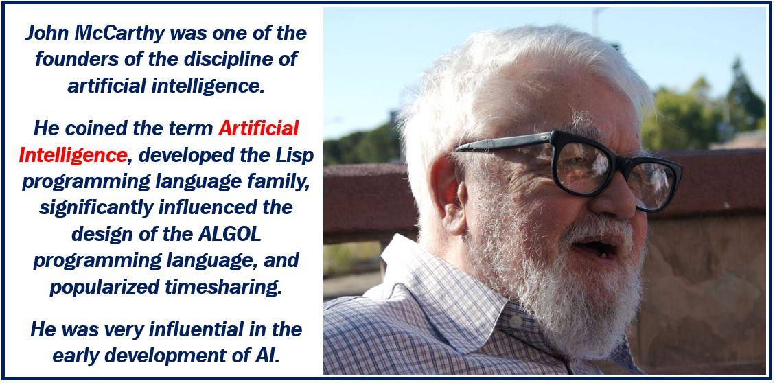 John McCarthy - coined the term Articifical Intelligence image