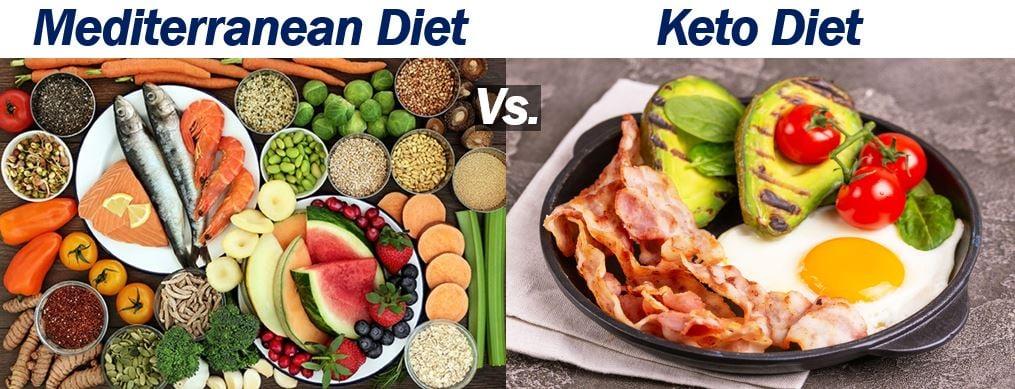 Mediterranean Diet vs. Keto Diet