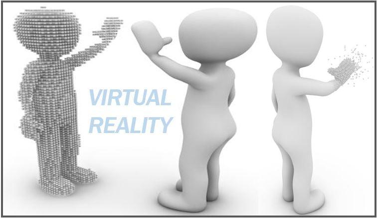 Virtual reality image 848948498498489484984989