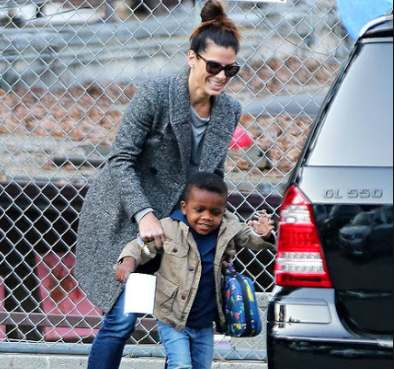 Sandra Bullock's Son