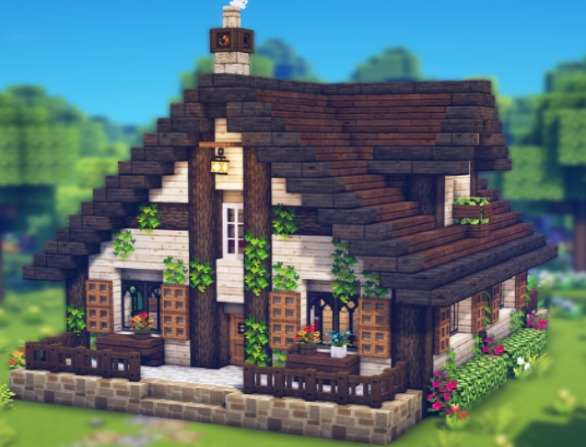 Minecraft Cottage House Ideas – 11 Steps to Build a Cottage in Minecraft