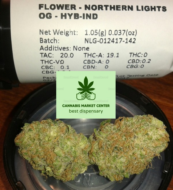Top Quality Northern Lights Strain Indica 2021