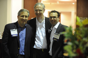 Our very own highly talented EVP from our Boston Office Sean Gallagher with Jim and Seth