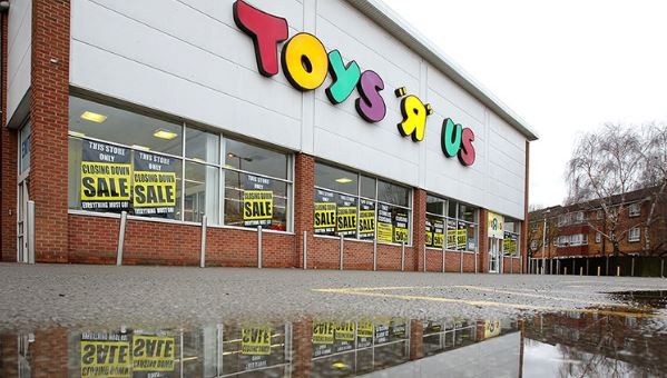 Toy R Us Down Open