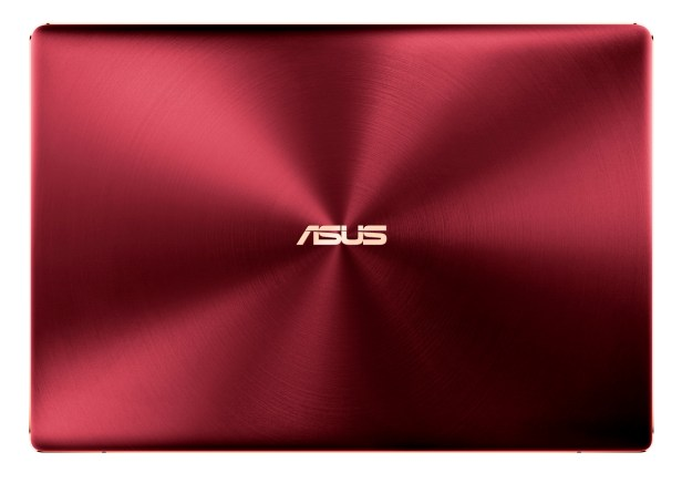 ASUS ZenBook S_Burgundy Red_iconic concentric circle