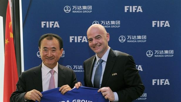แบรนด์จีน Wanda FIFA CEO