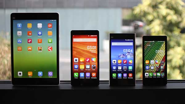 Smartphone แบรนด์จีน Xiaomi