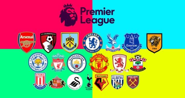 Dinnage Premier League Teams