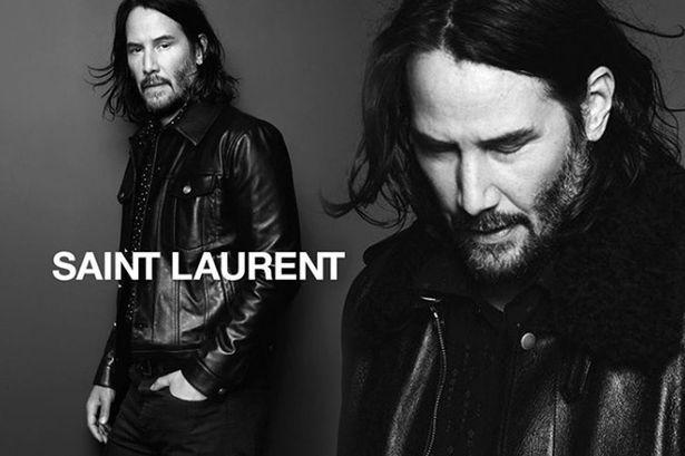Keanu Reeves Saint Laurent