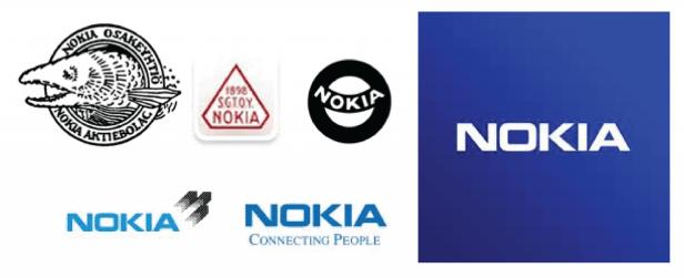 Nokia Logo Transformation