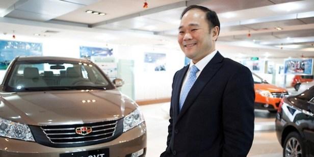 Lee Shufu Volvo Geely