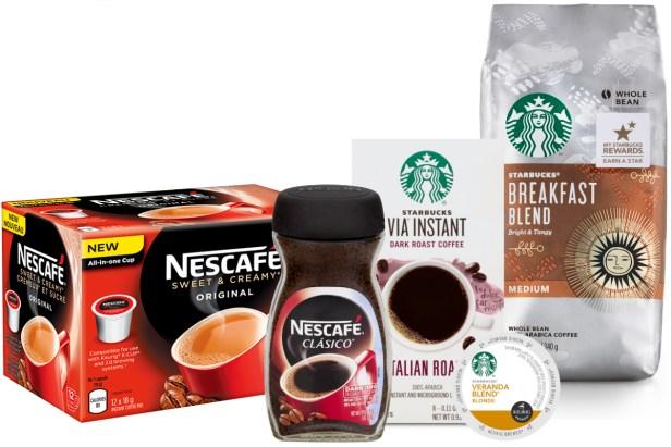 Nestle Starbucks 2