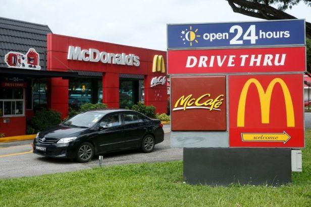 Mc Donald's Drive Thru