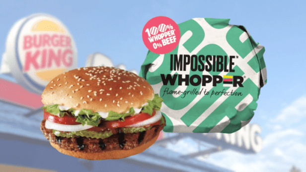 Impossible Whopper เนื้อเทียม
