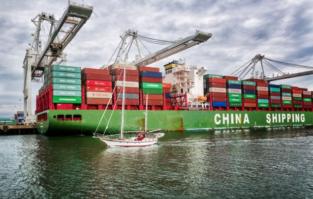 Chinese Port Call Maersk