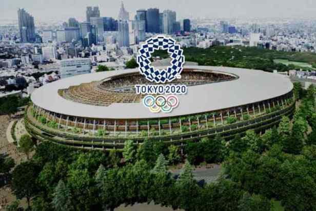 Tokyo Olympic Stadium Dentsu