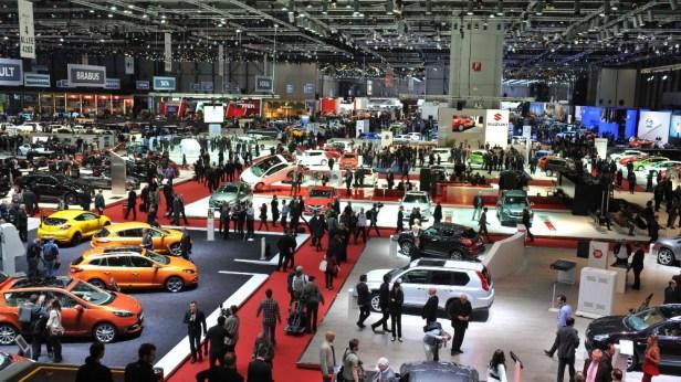 Geneva Motor show เกาหลีใต้ อิตาลี