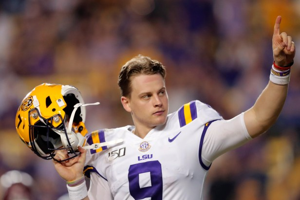 Joe Burrow Draft